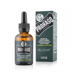 Proraso Cypress and Vetiver Beard Oil 30ml