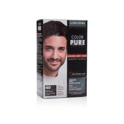Lorvenn Color Pure 40 Μόνιμη Βαφή Για Άνδρες 40ml