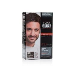 Lorvenn Color Pure 50 Μόνιμη Βαφή Για Άνδρες 40ml