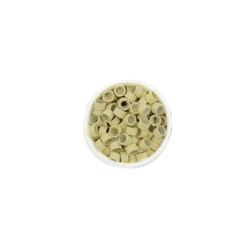 Micro Rings για Extensions με Σιλικόνη Ξανθό 100τμχ