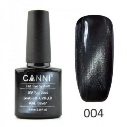 Canni Top Coat Cateye 04 Silver 7.3ml