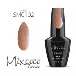 102 Ημιμονιμο Βερνικι Mixcoco 15ml Glitter