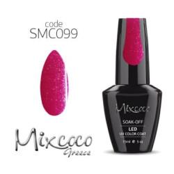 099 Ημιμονιμο Βερνικι Mixcoco 15ml Glitter