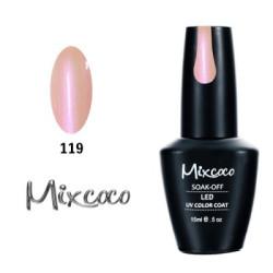 119 Ημιμονιμο Βερνικι Mixcoco 15ml Pearly