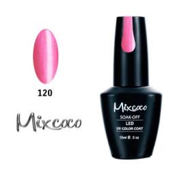 120 Ημιμονιμο Βερνικι Mixcoco 15ml Pearly